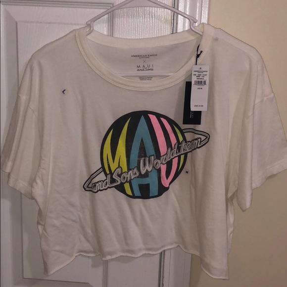 American Eagle Outfitters Tops - Crop t shirt